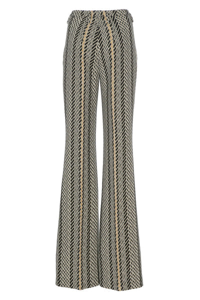 Akris, Tweed Diagonal Jacquard Pants
