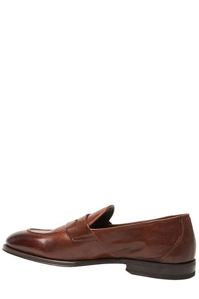 Henderson, Leather Penny Loafers