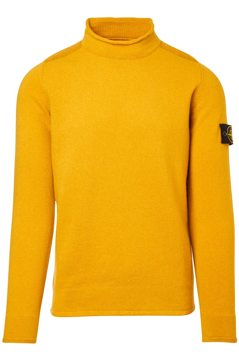 Stone Island, Rolled Neck Sweater