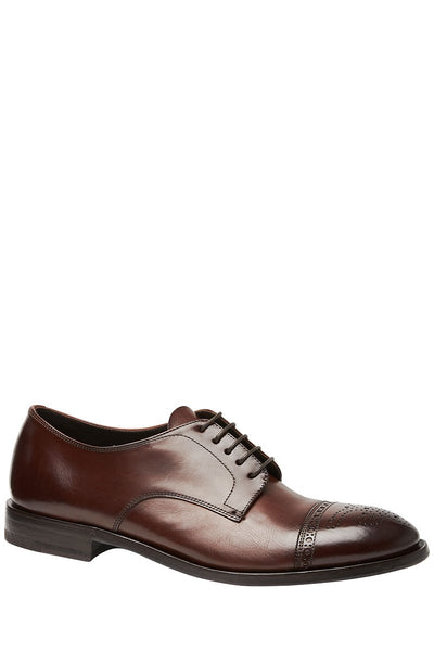 Henderson, Perforated Lace-Up Shoes