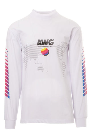 T By Alexander Wang, Long Sleeve Crewneck T-Shirt