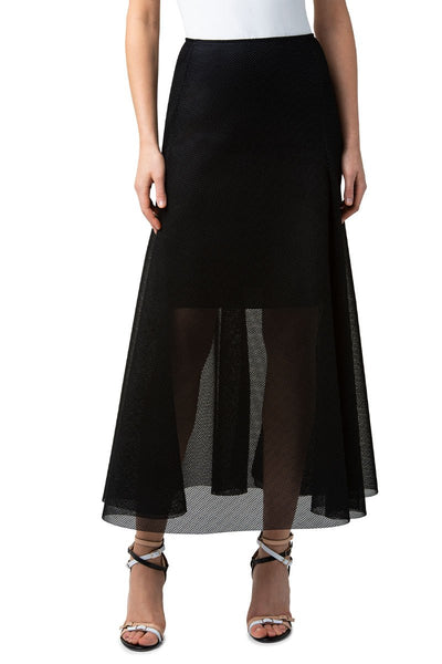 Techno Grid Skirt