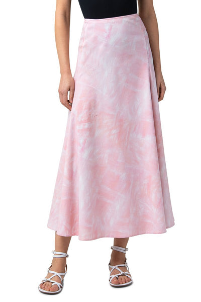 Brushstroke Midi Skirt