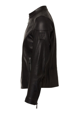 Belstaff, B-Racer Leather Jacket