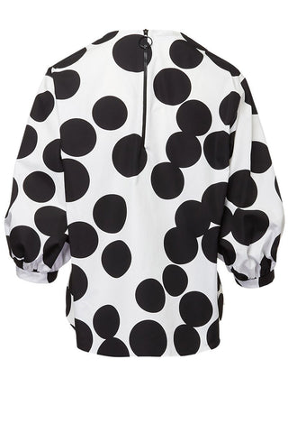 Akris Punto, Bold Dot Blouse
