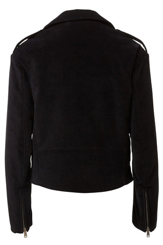 Langtry Velvet Biker Jacket