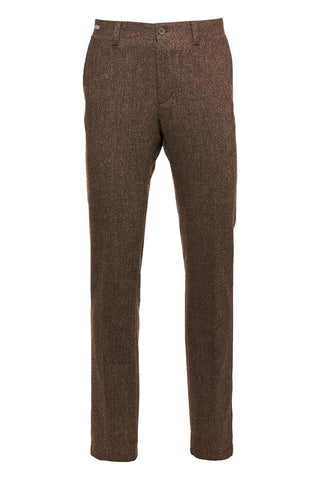 Wool-Cashmere Trousers