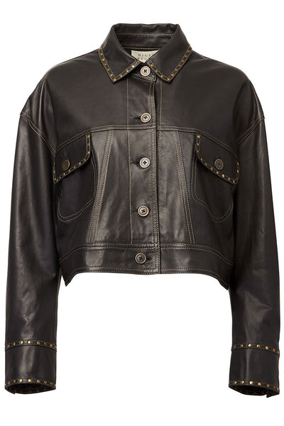 Nigel Preston, Leather Jean Jacket