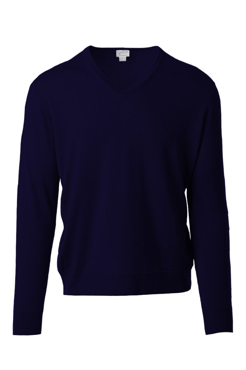 Silk-Cashmere V-Neck