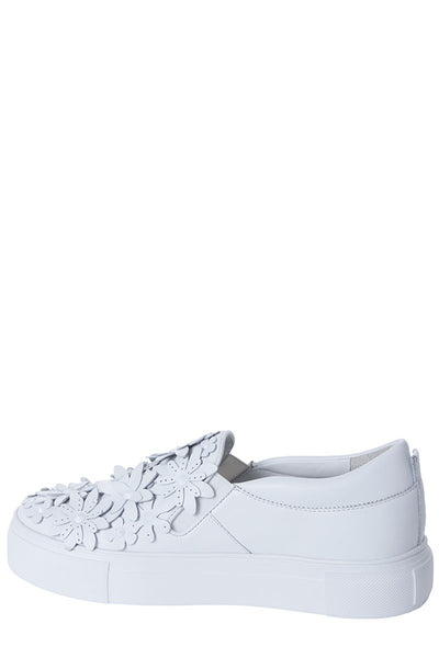 Kennel & Schmenger, Floral Leather Sneakers