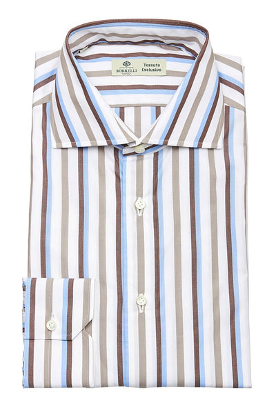 Luigi Borrelli, Striped Sportshirt