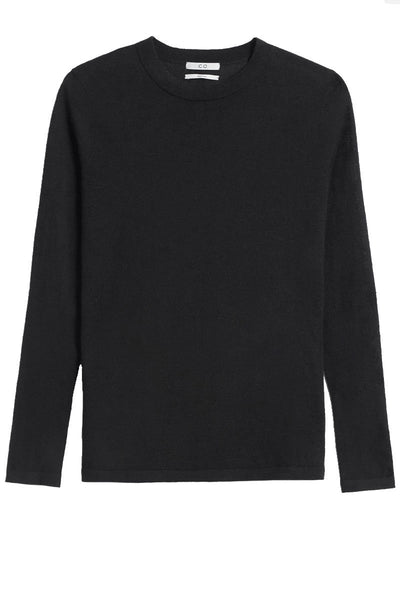 Long Sleeve Cashmere Crew