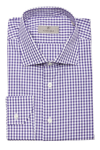 Canali, Checked Dress Shirt