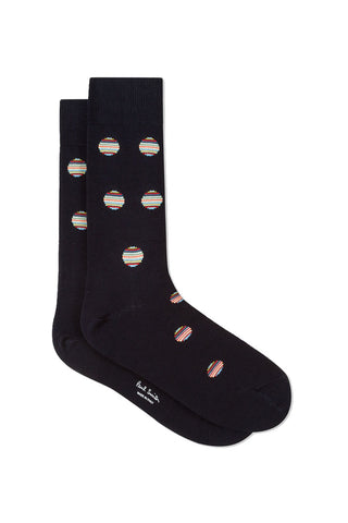 Polka Dot Stripe Socks