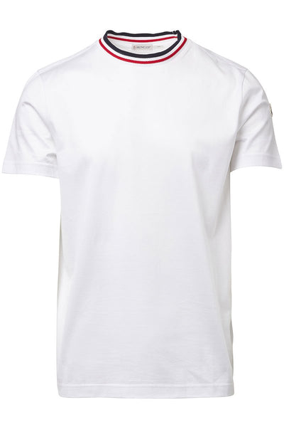 Moncler, Collar Striped T-Shirt