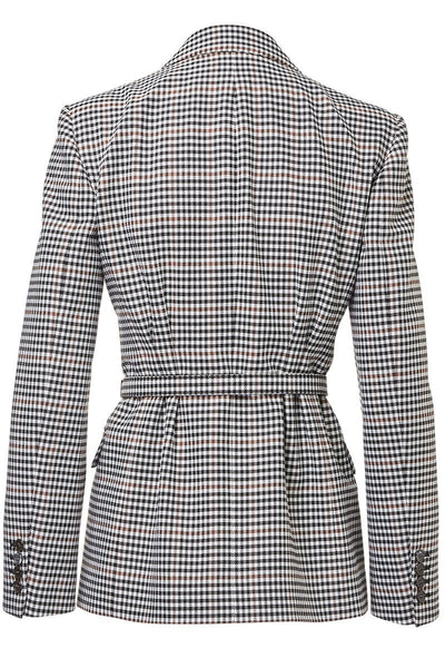 Michael Kors Collection, Houndstooth Check Blazer