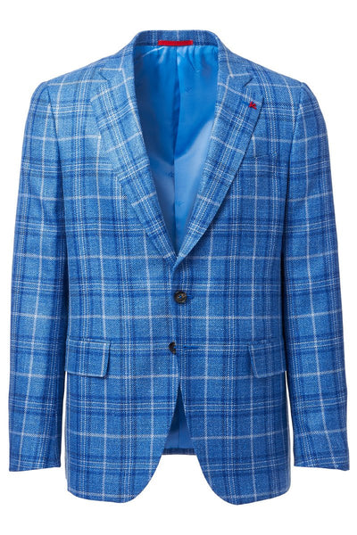 Isaia, Plaid Sportcoat