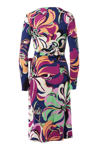 Aruba Faux Wrap Dress
