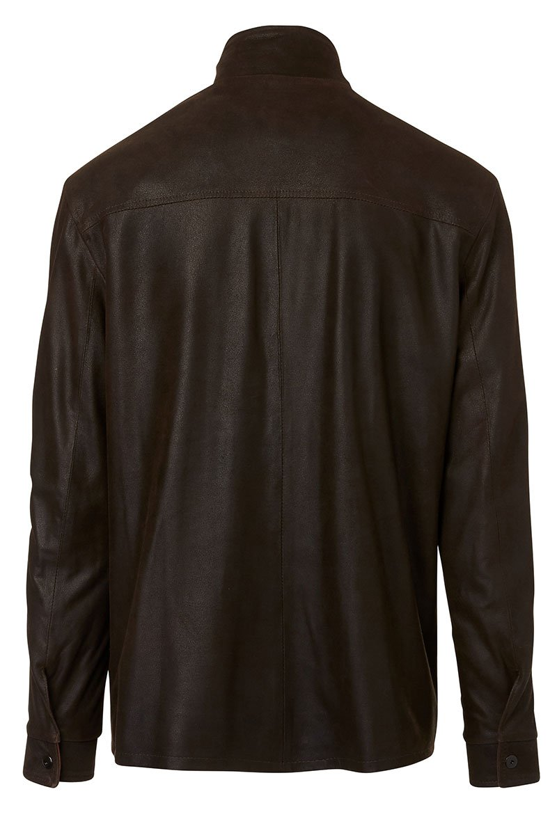 Remy, Rustic Leather Jacket