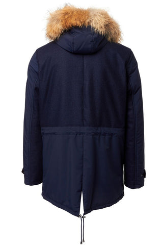 ISAIA, Mixed Media Parka