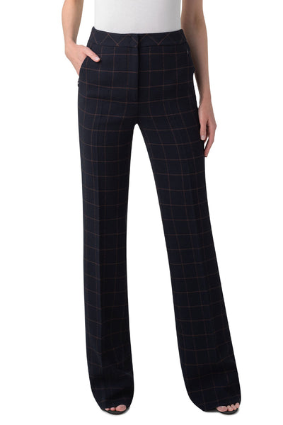 Farida Windowpane Pants
