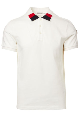 Colorblock Collar Polo