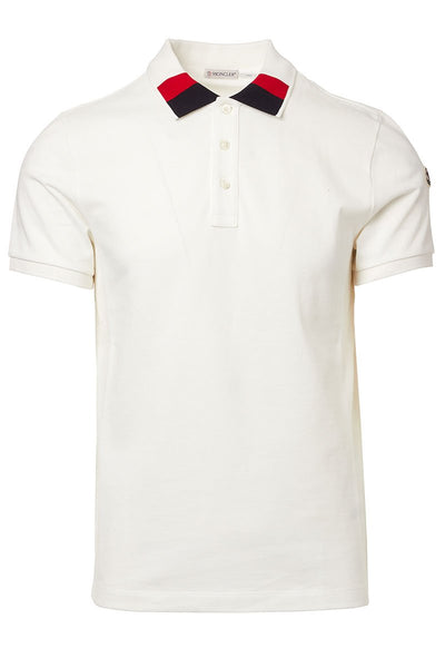 Moncler, Colorblock Collar Polo