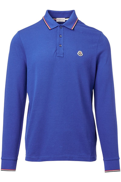 Moncler, Long Sleeve Polo Shirt