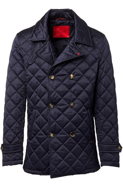 ISAIA, Quilted Peacoat