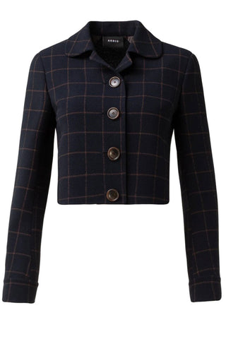 Lautrec Cropped Plaid Jacket
