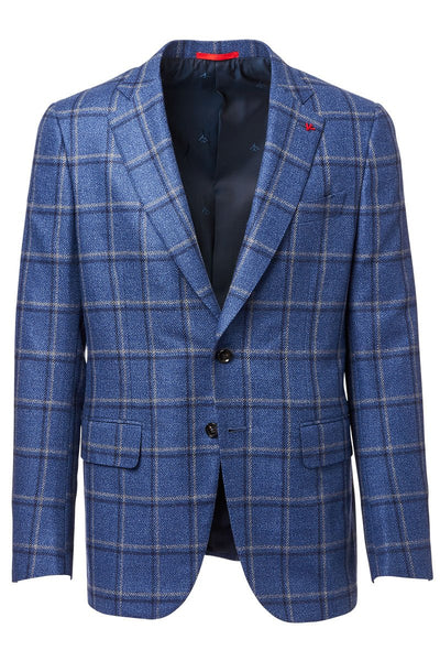 ISAIA, Windowpane Sportcoat