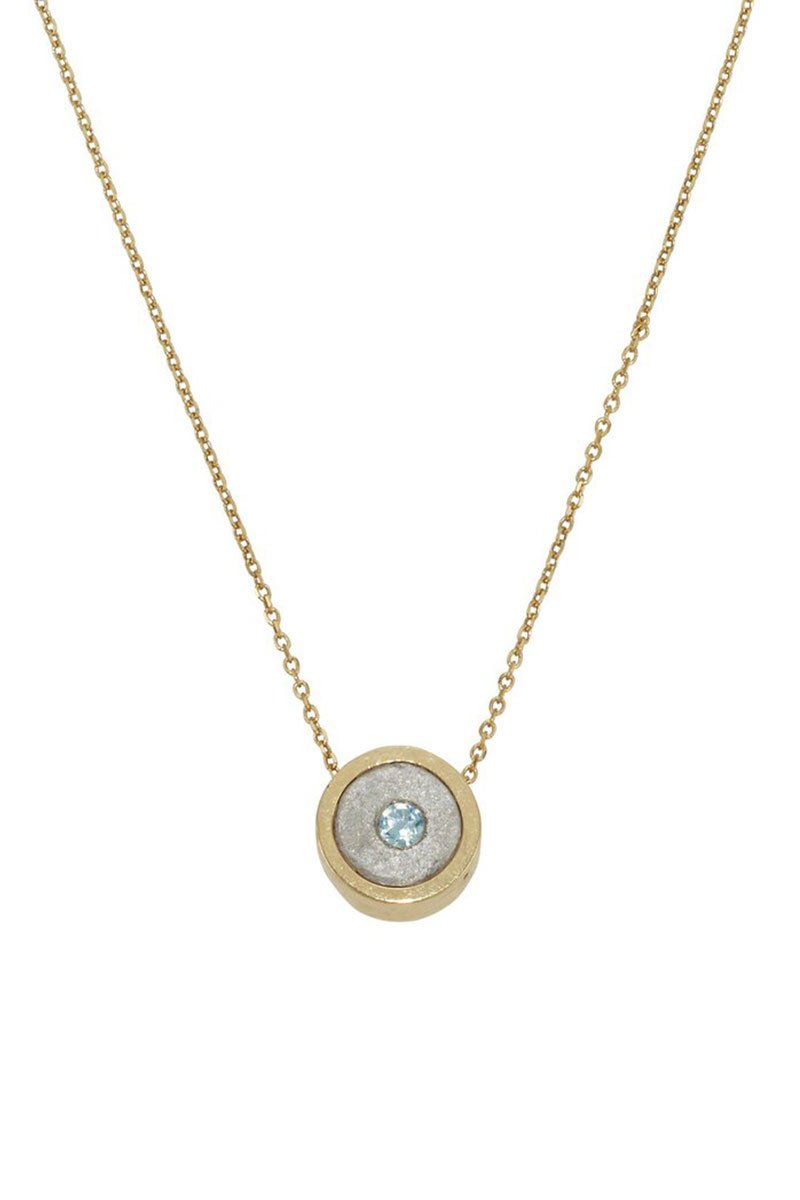 Article 22, March Birthstone Necklace