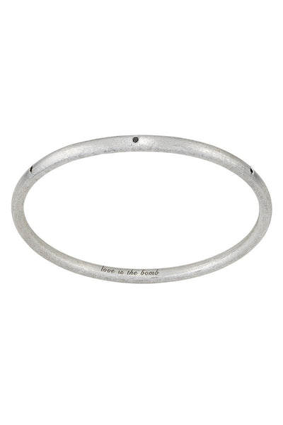 Love is the Bomb Bangle