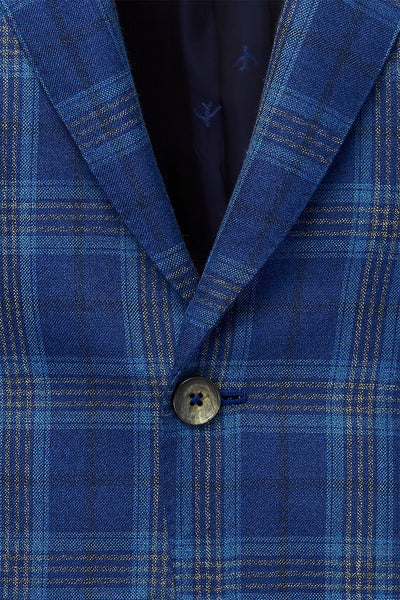 ISAIA, Royal Plaid Sportcoat