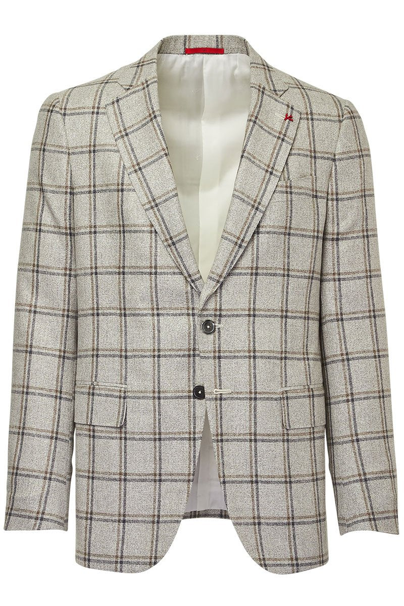 ISAIA, Natural Check Sportcoat