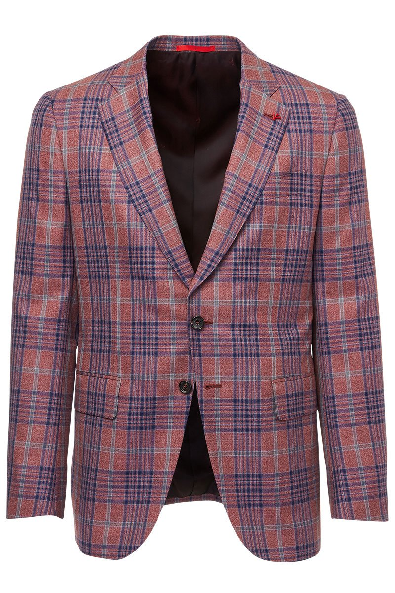 , Red Gregory Sportcoat