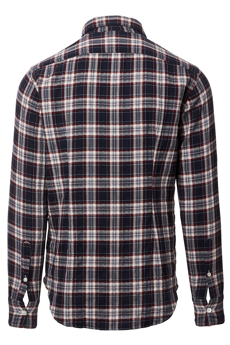 Eleventy, Blue Plaid Sportshirt
