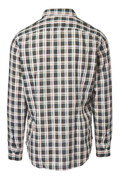 Eleventy, Green Plaid Sportshirt