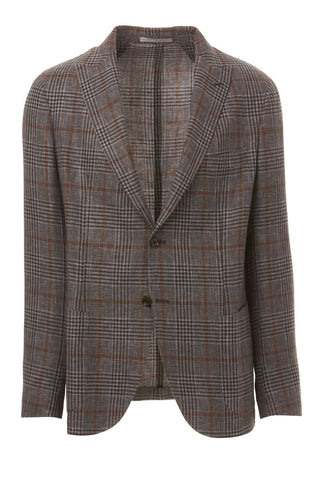 Plaid Linen Sportcoat