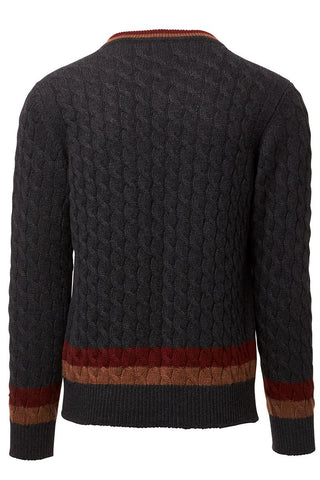 College Stripe Sweater