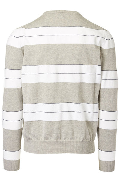 Eleventy, Bold Stripe Sweater
