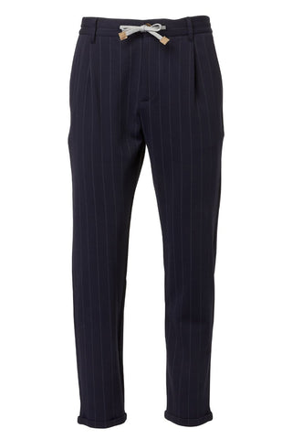Eleventy, Pinstripe Relaxed Trousers
