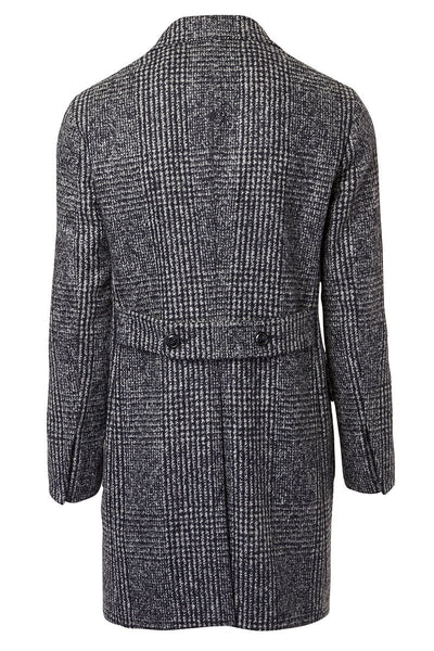 Barba, Mana Glen Plaid Overcoat