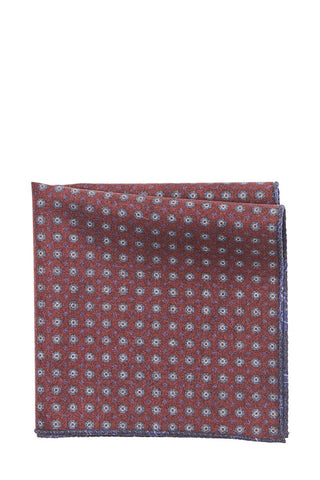 Paisley Dotted Pocket Square