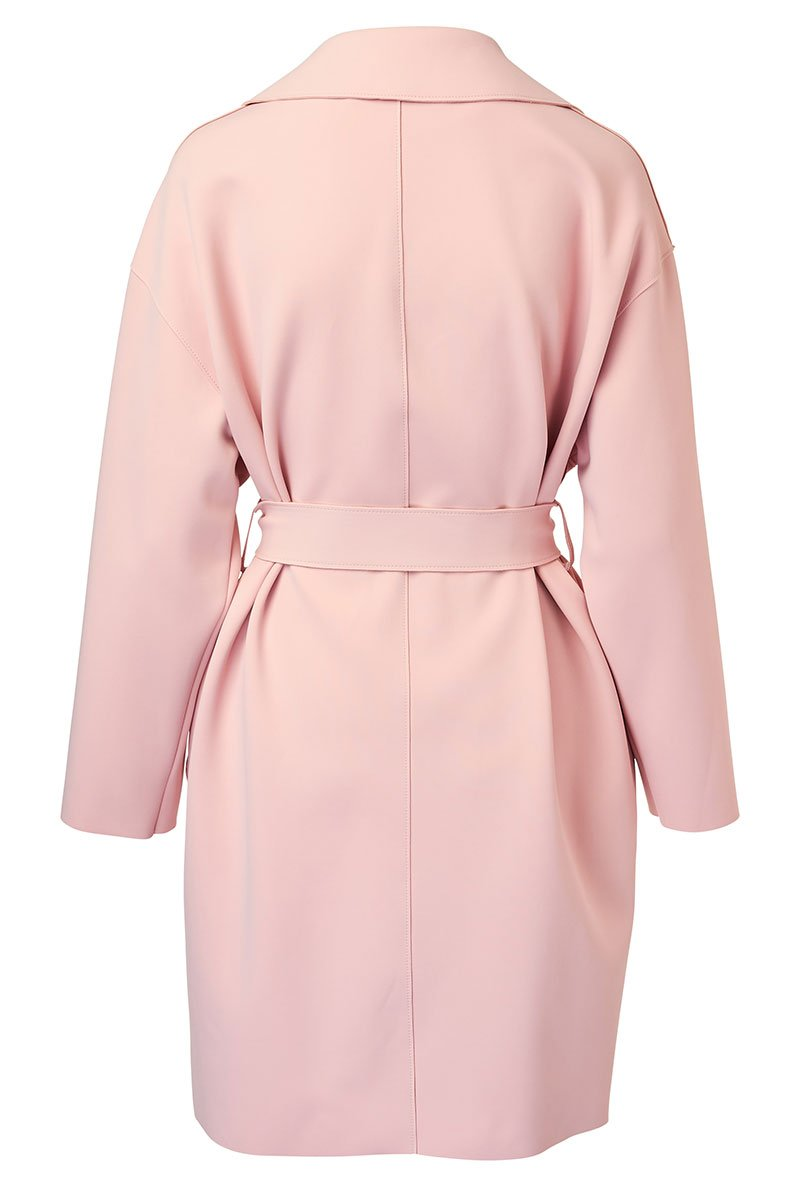 Harris Wharf London, Drop Shoulder Wrap Coat
