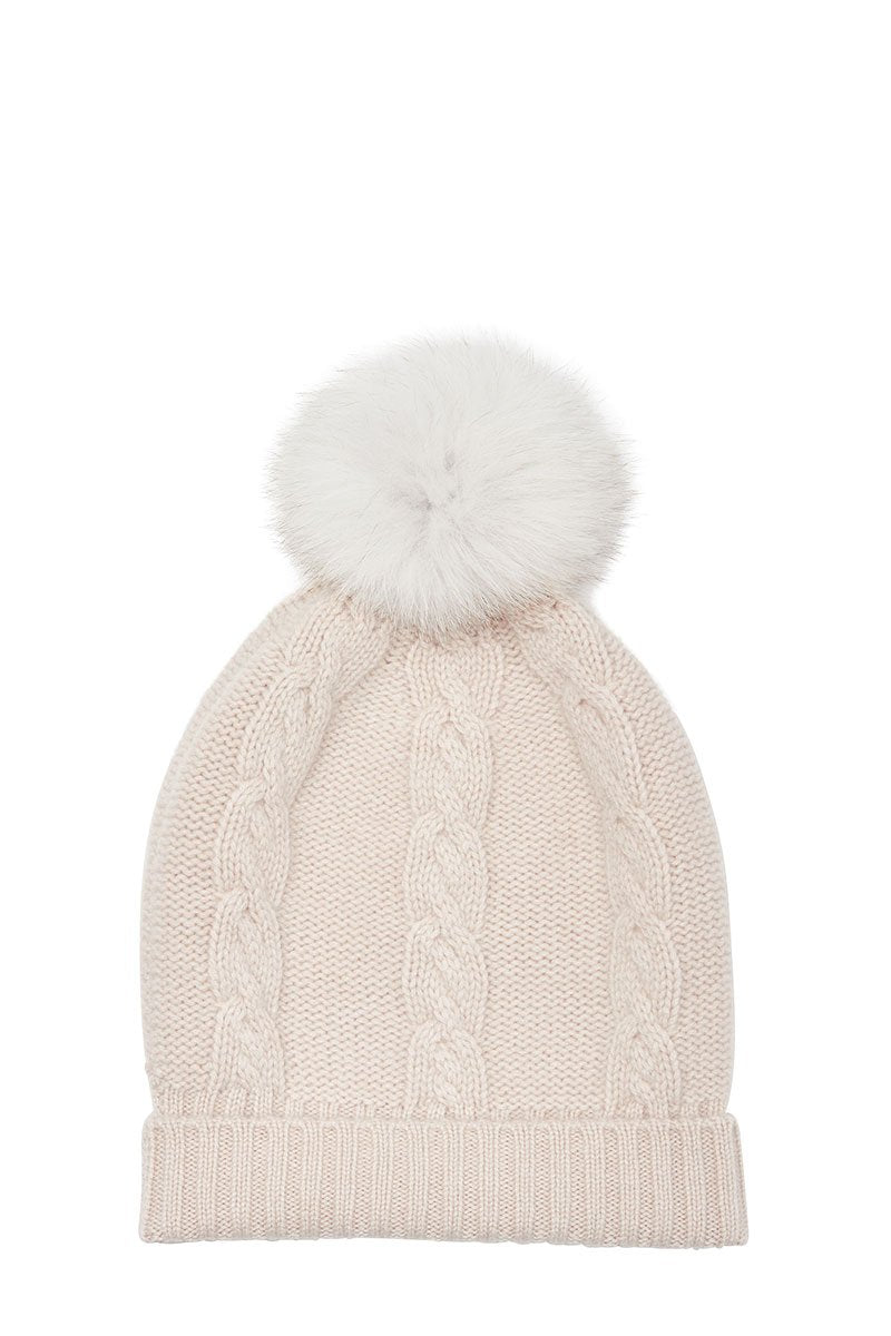 Christopher Fischer, Cable Knit Pom Hat