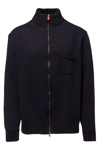 Inis Meain, Plated Full Zip Cardigan