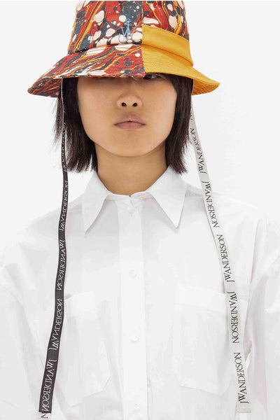 Asymmetric Bucket Hat