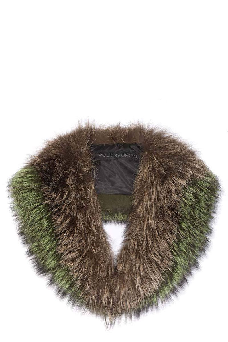 Maya Fox Fur Collar