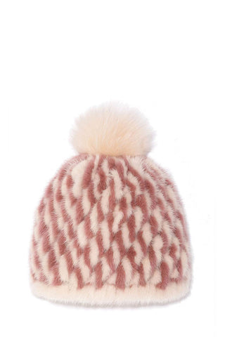 Two-Tone Fur Hat